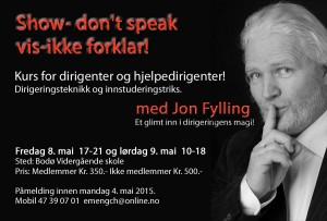 Jon Fylling Dirigentkurs bodø 2015